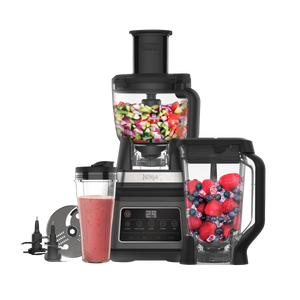 Enjoy crushed ice smoothies, fresh smoothies, sauces, dips and desserts at the touch of a button. Make enough to share with the multi-serve jug blender, or choose the 2-in-1 model with built-in personal blender to pour into your cup and enjoy on the go.