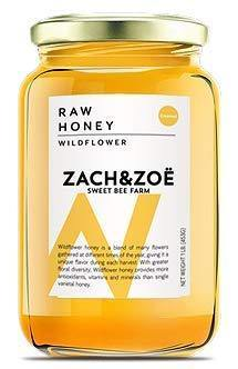 Unfiltered Raw Honey by Zach & Zoe Sweet Bee Farm - Slushlyo Tea & Coffee