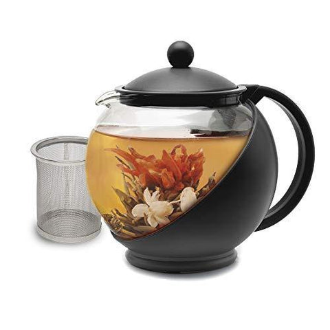 Primula Half Moon Teapot with Removable Infuser - Slushlyo