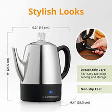 Load image into Gallery viewer, Gastrorag Electric Coffee Percolator - Slushlyo Tea & Coffee