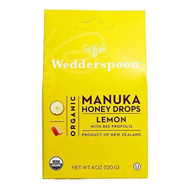 Wedderspoon Organic Manuka Honey Drops - Slushlyo Tea & Coffee