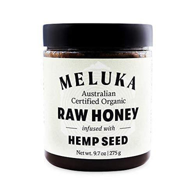 Meluka 100% Organic Premium Unfiltered Raw Hemp Honey - Slushlyo Tea & Coffee