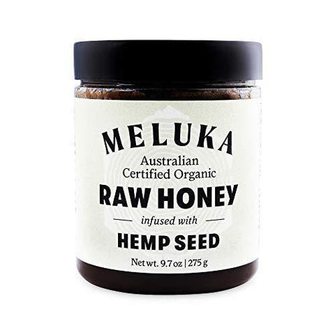 Meluka 100% Organic Premium Unfiltered Raw Hemp Honey - Slushlyo