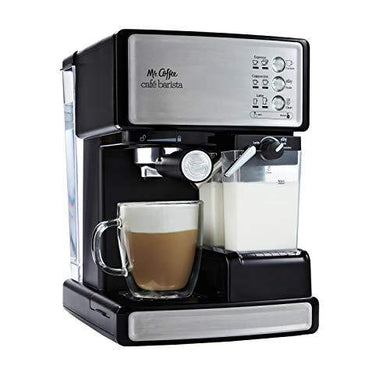 Mr. Coffee Espresso and Cappuccino Maker - Slushlyo Tea & Coffee