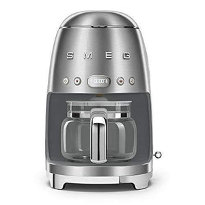 Smeg 1950's Retro Style 10 Cup Programmable Coffee Maker Machine - Slushlyo