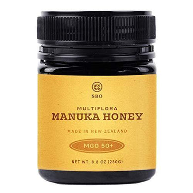 SB Organics Multiflora Manuka Honey MGO 50+ - Slushlyo Tea & Coffee