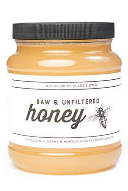 TJO Bees Raw and Unfiltered Honey - Slushlyo Tea & Coffee