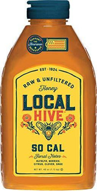 Local Hive from L.R Rice, Raw Honey, Pure and Unfiltered, Local Southern California - Slushlyo Tea & Coffee