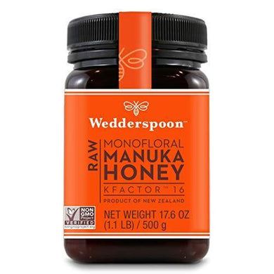 Wedderspoon Raw Premium Manuka Honey - Slushlyo Tea & Coffee