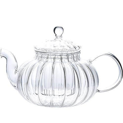 IwaiLoft NEW Glass Teapot with Infuser, Stovetop Safe Tea Kettle - Slushlyo
