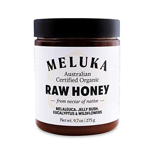 Meluka 100% Pure Premium Unfiltered Native Australian Raw Honey - Slushlyo Tea & Coffee