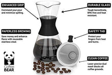 Load image into Gallery viewer, Pour Over Coffee Maker By Coffee Bear - Slushlyo Tea & Coffee