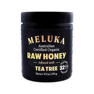 Meluka Native Premium Honey Infused with Tea Tree - Slushlyo Tea & Coffee