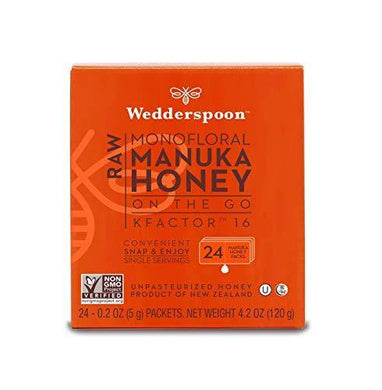 Wedderspoon On The Go Raw Premium Manuka Honey - Slushlyo Tea & Coffee