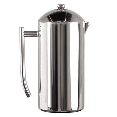 Frieling Double-Walled Stainless-Steel French Press Coffee Maker - Slushlyo Tea & Coffee