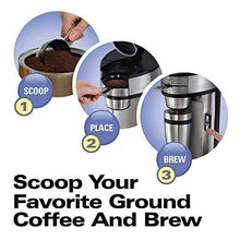 Load image into Gallery viewer, Hamilton Beach Scoop Single Serve Coffee Maker - Slushlyo Tea & Coffee