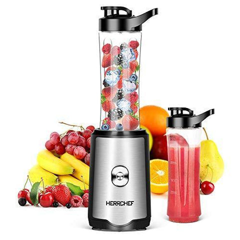 Smoothie Blender, Herrchef Blender for Shakes and Smoothies - Slushlyo