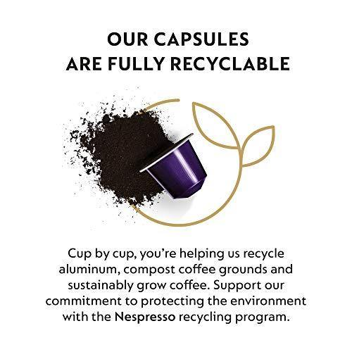 Nespresso Capsules OriginalLine, Ispirazione Variety Pack, Mild, Medium, Dark Roast Espresso Coffee, 50 Count Espresso Coffee Pods, Brews 1.35 oz - Slushlyo