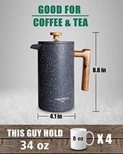 Load image into Gallery viewer, POLIVIAR French Press Coffee Maker - Slushlyo Tea & Coffee