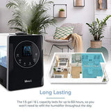 LEVOIT Humidifiers for Large Room Bedroom (6L), Warm and Cool Mist - Slushlyo