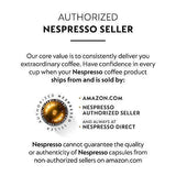 Nespresso Capsules VertuoLine, Voltesso , Mild Roast Espresso Coffee, 50 Count Coffee Pods, Brews 1.35oz - Slushlyo