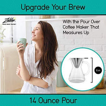 Load image into Gallery viewer, Pour Over Coffee Maker 3 Cup Hand Drip - Slushlyo Tea & Coffee