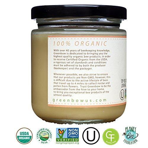 GREENBOW Organic Honey - 100% USDA Certified Organic - Slushlyo