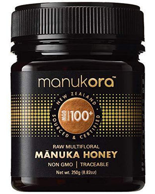 Manukora MGO 100+ Multifloral Raw Mānuka Honey - Slushlyo Tea & Coffee