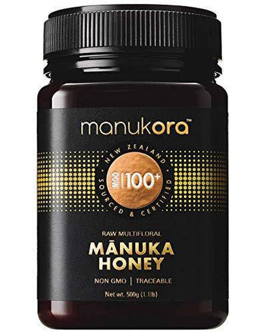 Manukora MGO 100+ Multifloral Raw Mānuka Honey - Slushlyo
