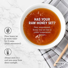 Load image into Gallery viewer, Meluka 100% Pure Premium Unfiltered Native Australian Raw Honey - Slushlyo Tea & Coffee