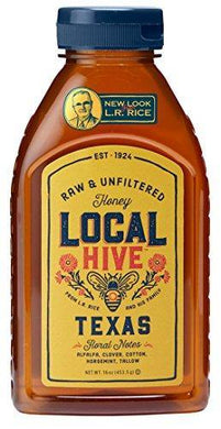 Local Hive Texas Raw & Unfiltered Honey - Slushlyo Tea & Coffee