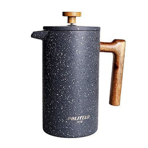 POLIVIAR French Press Coffee Maker - Slushlyo