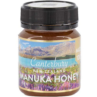Manuka Honey New Zealand's 100% Pure Raw & Unfiltered MGO 100 - Slushlyo Tea & Coffee