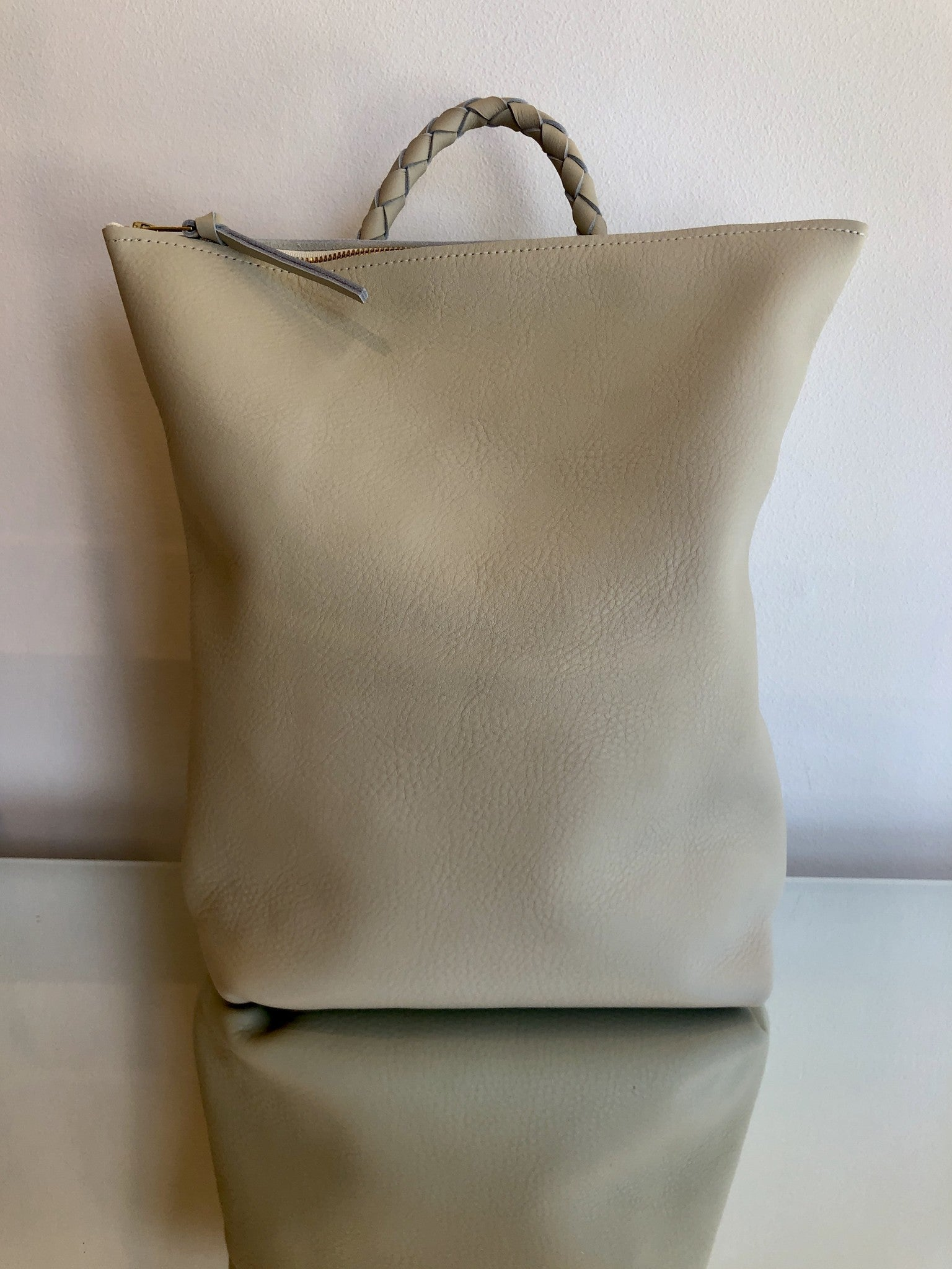 BACKPACK NO. 1 IVORY PEBBLE