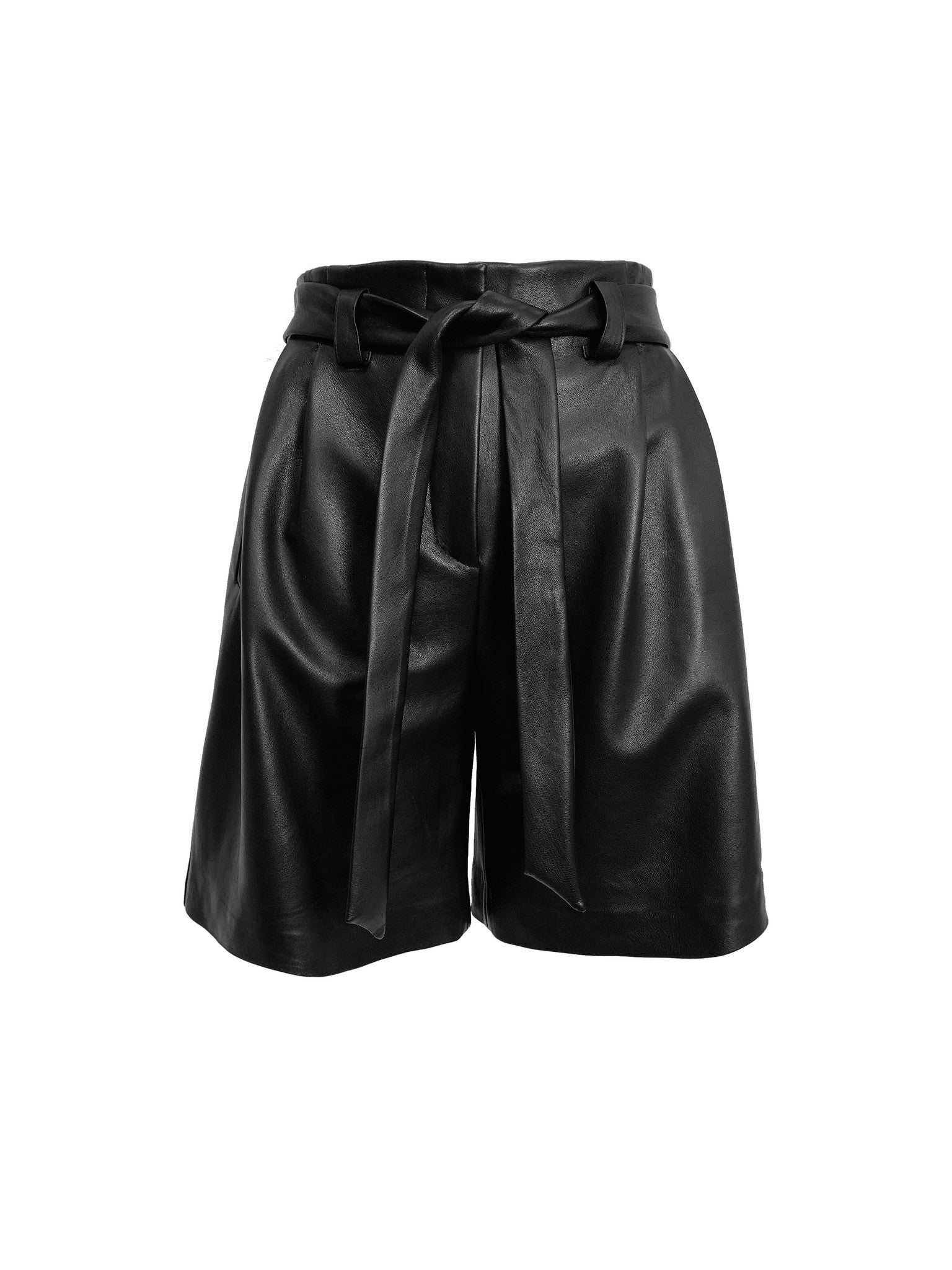 LUIS LEATHER SHORT