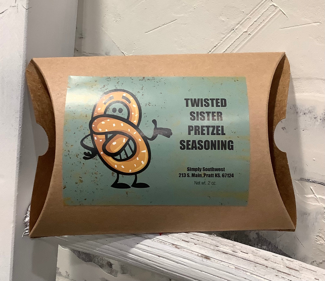 Twisted Sister Pretzel Seasoning