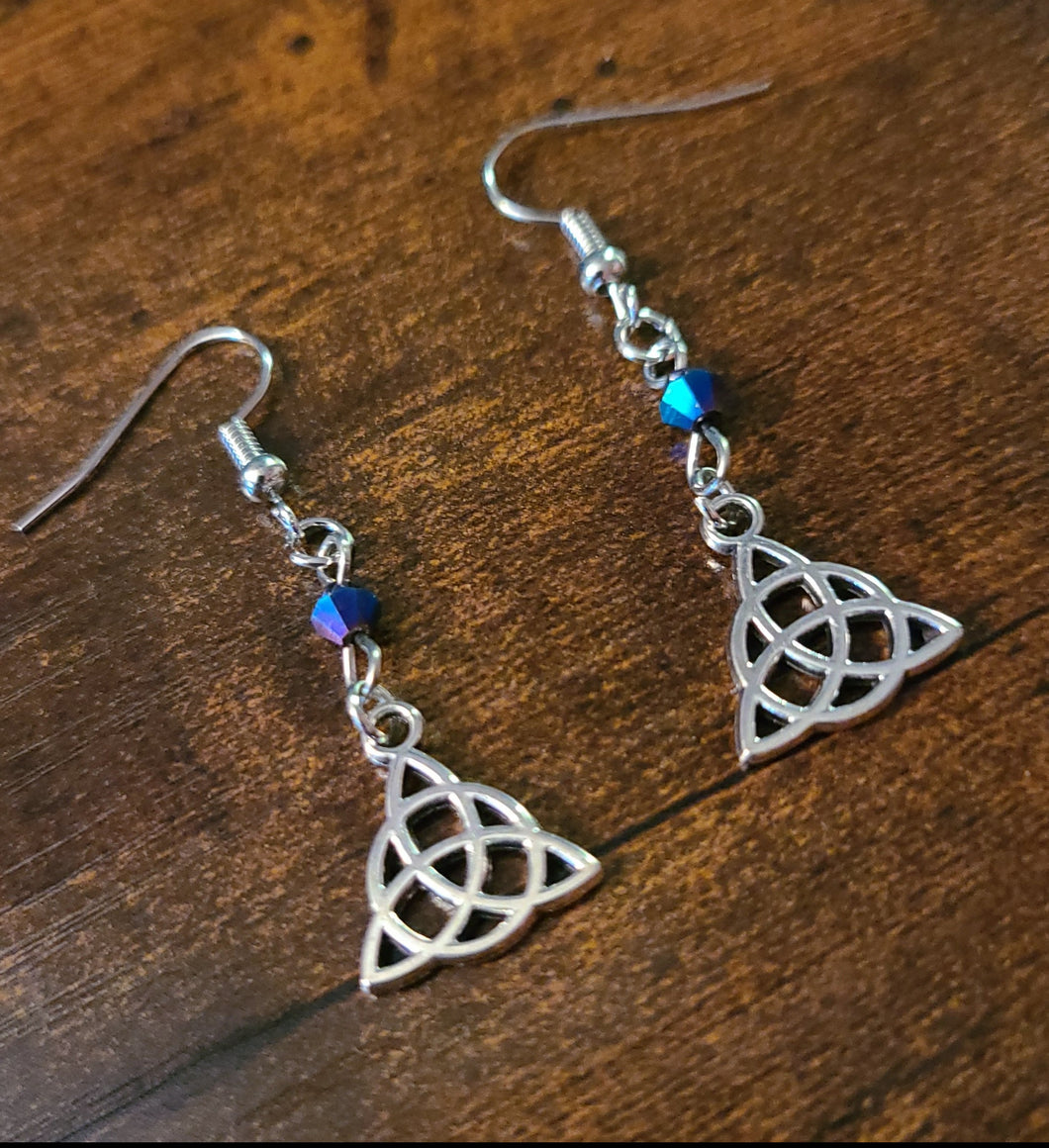 Charmed Triquetra Earrings