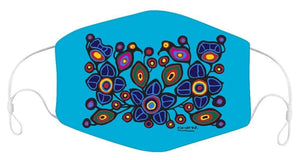 NEW RELEASE! Norval Morrisseau Flowers and Birds Reusable Children's Face Mask