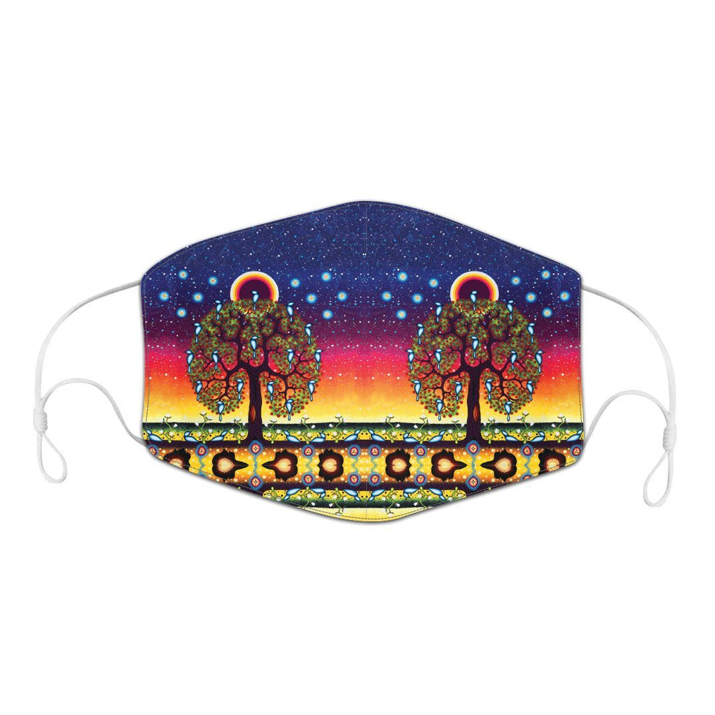 James Jacko Tree of Life Reusable Adult Face Mask
