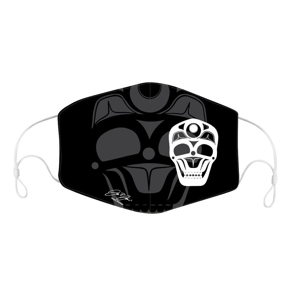James Johnson Skull Reusable Adult Face Mask