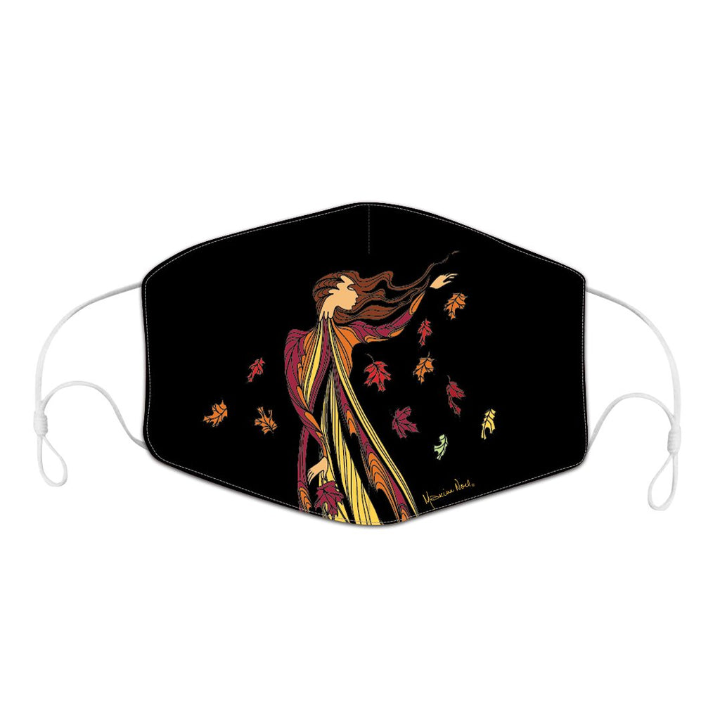 Maxine Noel Leaf Dancer Reusable Face Mask