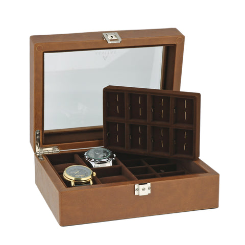Watch and Cufflink Box by Aevitas
