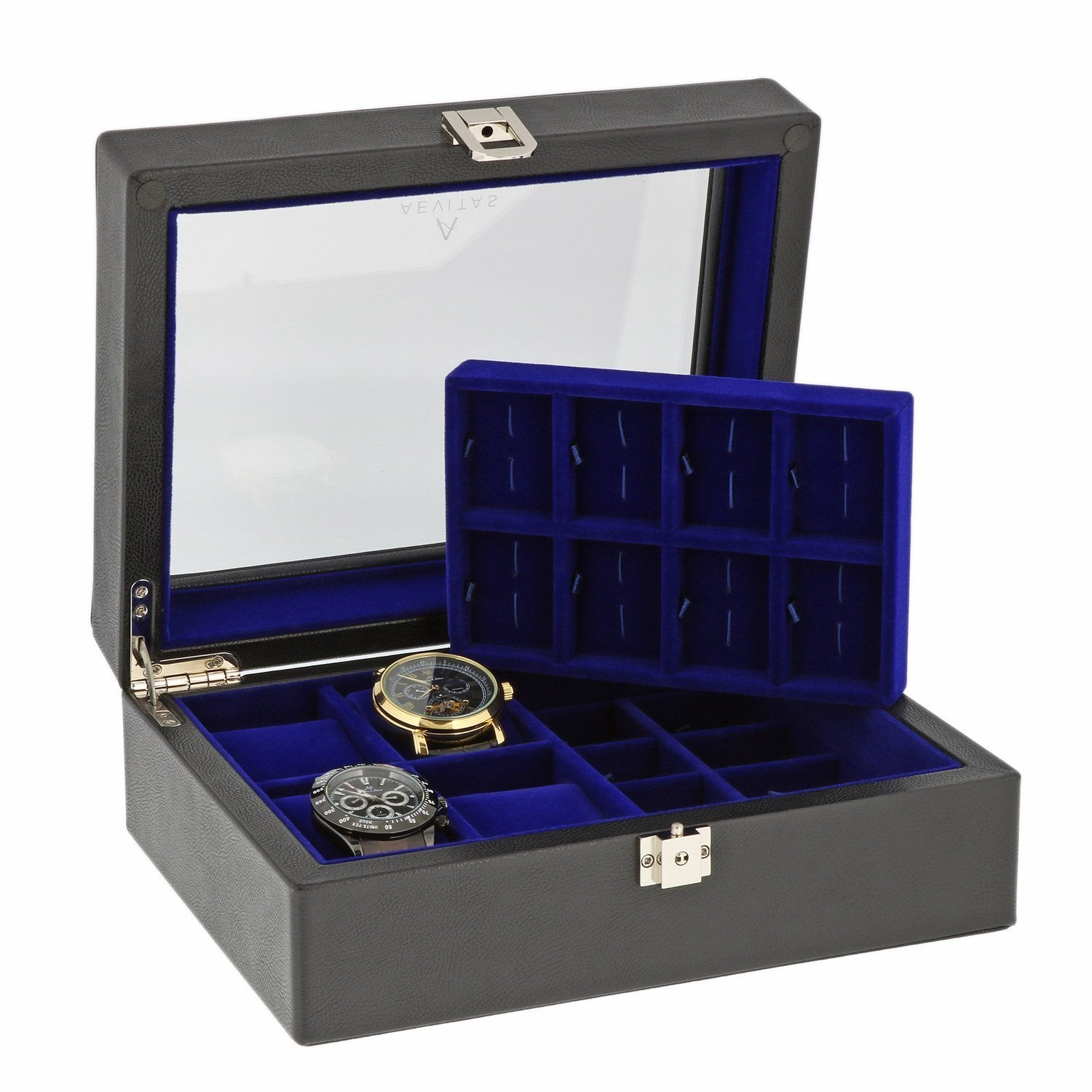 Aevitas Leather Watch Box Collection