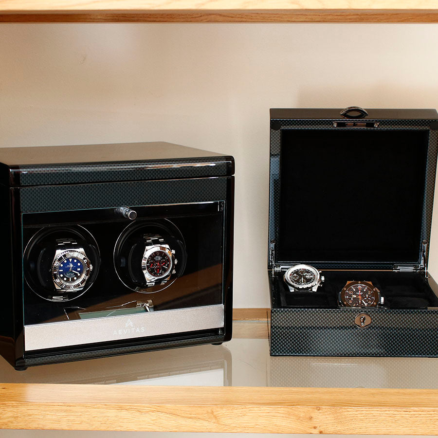 Aevitas Watch Winders and Watch Boxes