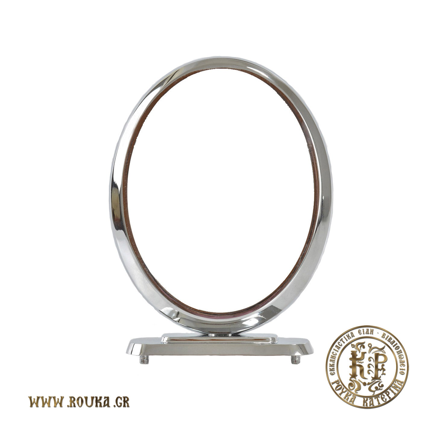 Sleek Frame with Oval Base