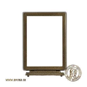 Square Frame with Sleek Base