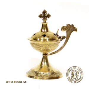 Bronze Home Censer with Decoration