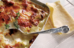 Smoked Chicken and Roast Vegetable Lasagne