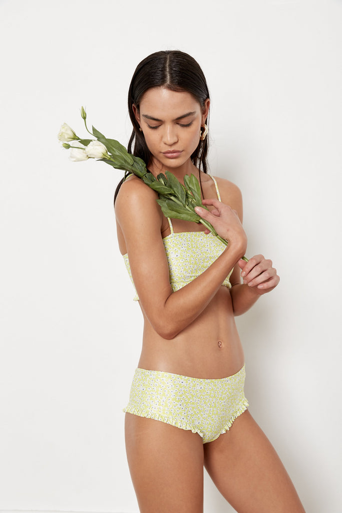 Isla Bottoms - Lime Wildflower - Eco
