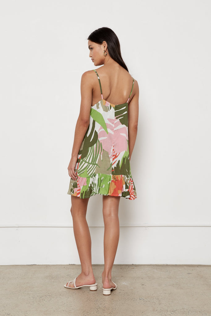 Margarita Dress - Jungle
